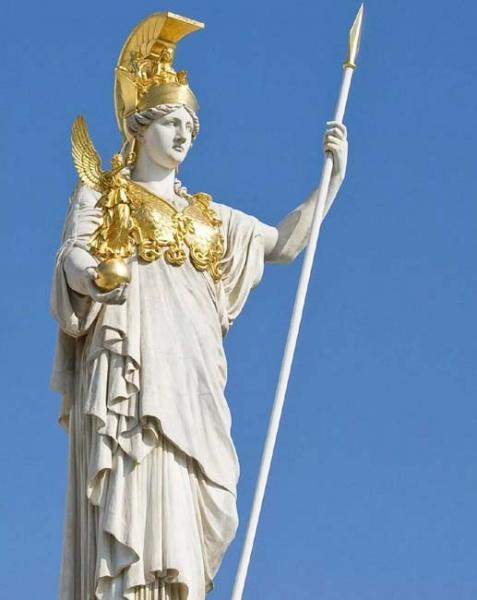 богиня афина