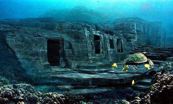Подводные пирамиды Йонагуни