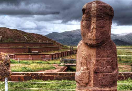 Тиуанако Боливия