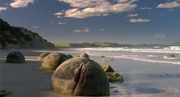 каменные шары Моераки
