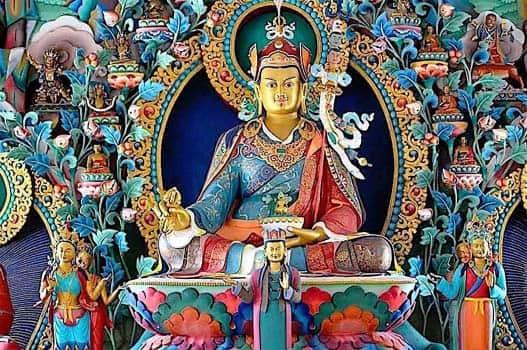 индийский йогин Падмасамбхава