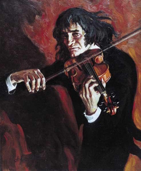 музыка Никколо Паганини
