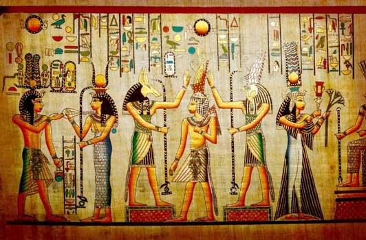 боги древнего египта